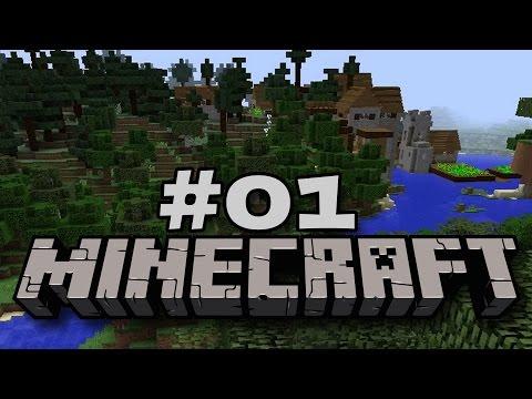 Laute Nachbarn am Baugrund - Let's Play Minecraft #01 [DEUTSCH|HD]