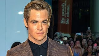 Chris Pine on his full frontal nudity in 'Outlaw King'