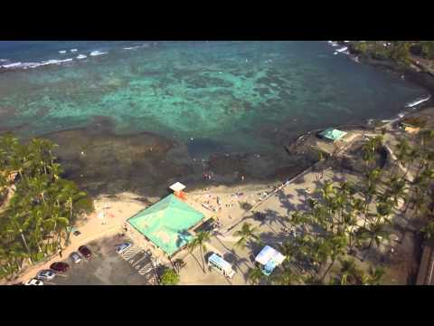 Kahaluu Beach flight