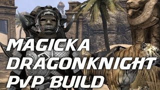 (PvP Build) Magicka Dragonknight - Dark Brotherhood Update