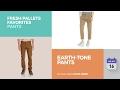 Earth-Tone Pants Fresh Pallets Favorites Pants