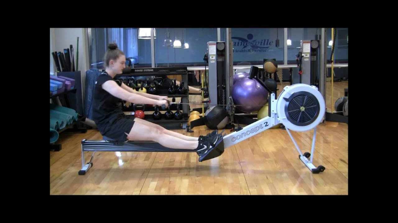 How to Properly Use a Rowing Machine  YouTube
