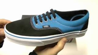 VANS ERA BRILLIANT BLUE BLACK