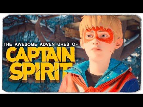 СЕКРЕТ КАПИТАНА ПРИЗРАКА - THE AWESOME ADVENTURES OF CAPTAIN SPIRIT (LIFE IS STRANGE 2)