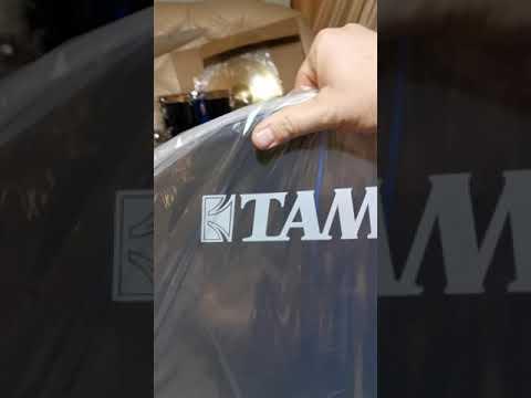 Распаковка и сборка ударной установки Tama