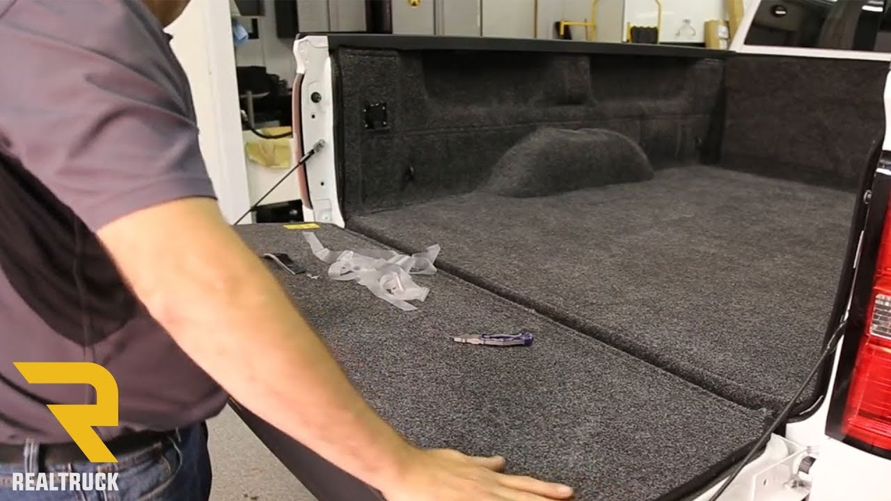 Bed Rug How To Install Bedrug Molded Carpet Truck Bed Liner On A Gmc 2500