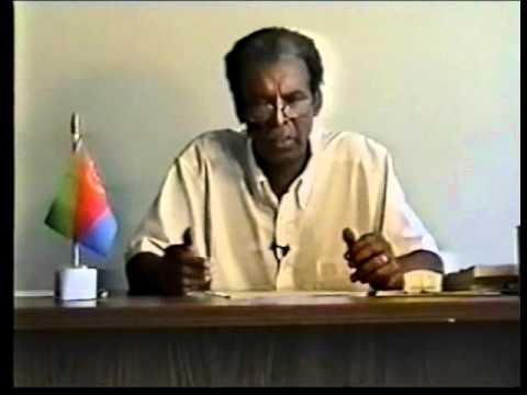 Eritrea, Haile Durus own Words, Adhanom Intro 2001 P1