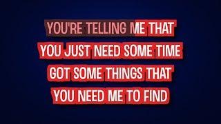 Joss Stone - Don't Start Lying to Me Now (Karaoke Version)