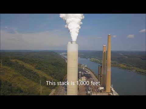 W  H  Sammis Power Plant at Stratton on the Ohio River