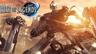 Rise of Legends - Vinci Gameplay Steampunk Super Tanks! - Rise of Nations: Rise of Legends Gameplay