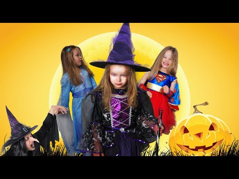 Valerie's mysterious Halloween adventure. Pretend Play. Funny story for kids.