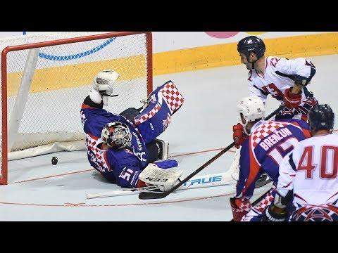 Slovakia vs. Croatia - 2017 IIHF Inline Hockey World Championship