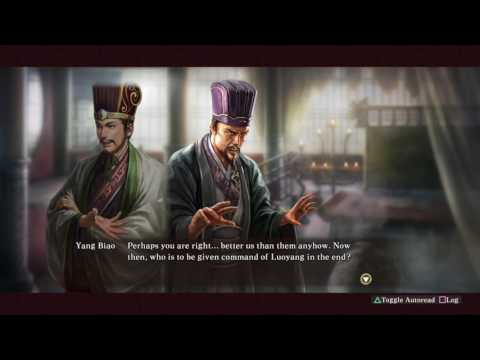 Xun Yu Conspires (Cao Cao) Custom Event - Romance of the Three Kingdoms XIII PUK
