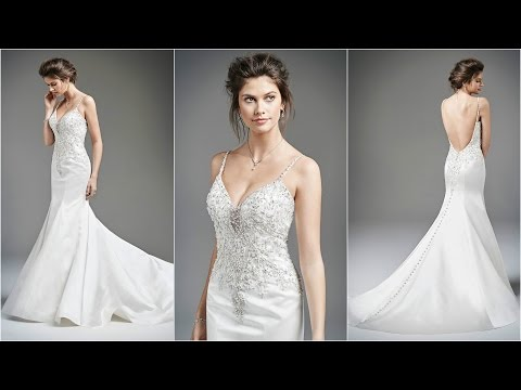 Mermaid Wedding Gowns | Low Back Wedding Dresses | Wedding Gown Designs | Wedding Dresses | WD22