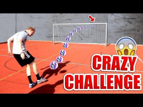 CRAZY FUßBALL CHALLENGE !
