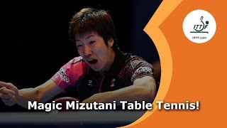 Magic Mizutani Table Tennis!