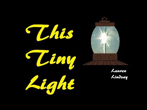 """🎼""""This Tiny Light"""" Christian Alternative - Lauren Lindsay"""