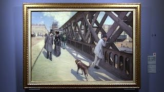 ギュスターヴ・カイユボット 《ヨーロッパ橋》1876年 ブリヂストン美術館 カイユボット展 ― 都市の印象派