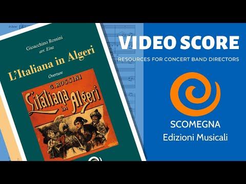 L'ITALIANA IN ALGERI, Sinfonia - Gioacchino Rossini, arr. Einz