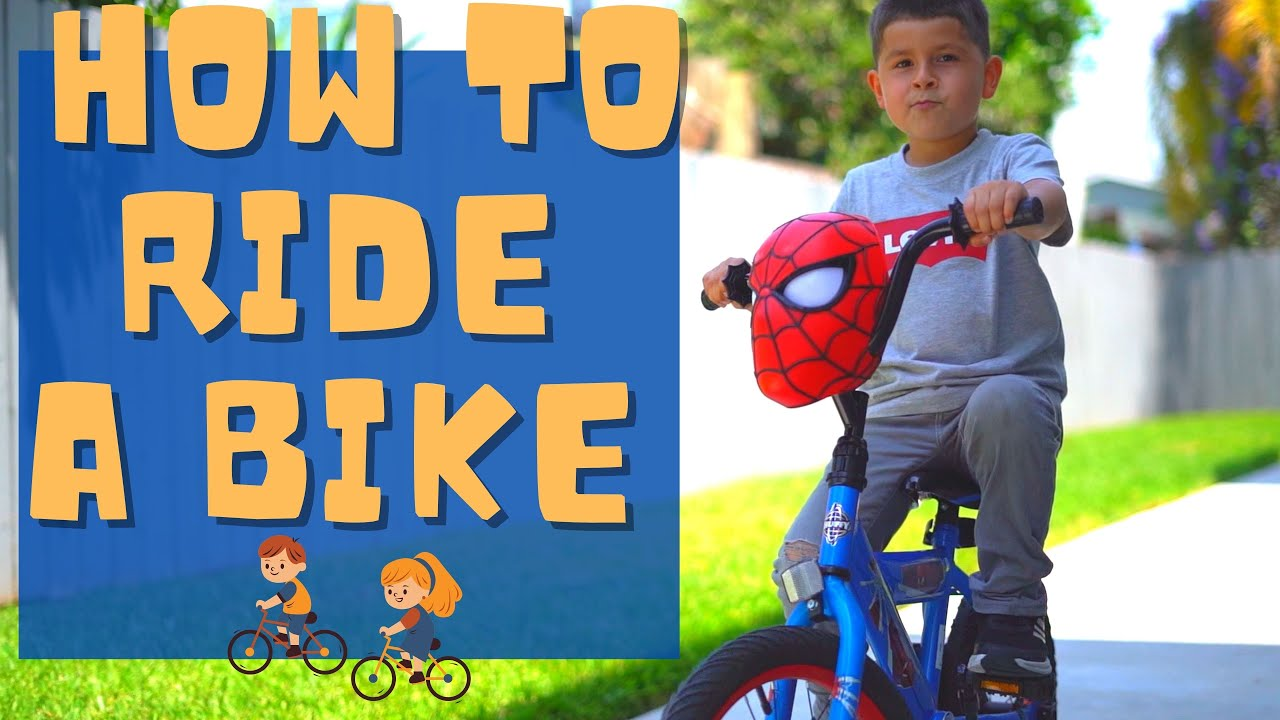 How to Ride A Kids Bike With Gems The Kid (Learn to ride a bike)