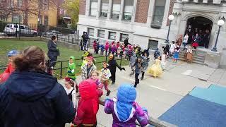 BELLEVUE PA ELEMENTARY SCHOOL 2017 HALLOWEEN PARADE part 1