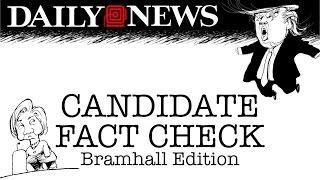 Debate #3 Fact Check: Trump & Clinton