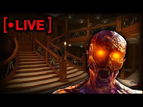LIVE TOUR - INSIDE Titanic Ship BO4 Zombies Map - Comparing Voyage Of Despair