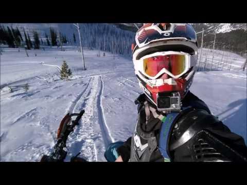 Montana Snowmobile Trip January 2017