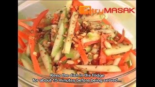 Green Apple Salad with Carrots