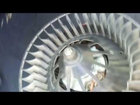как снять моторчик печки мерседес W210(подробно)