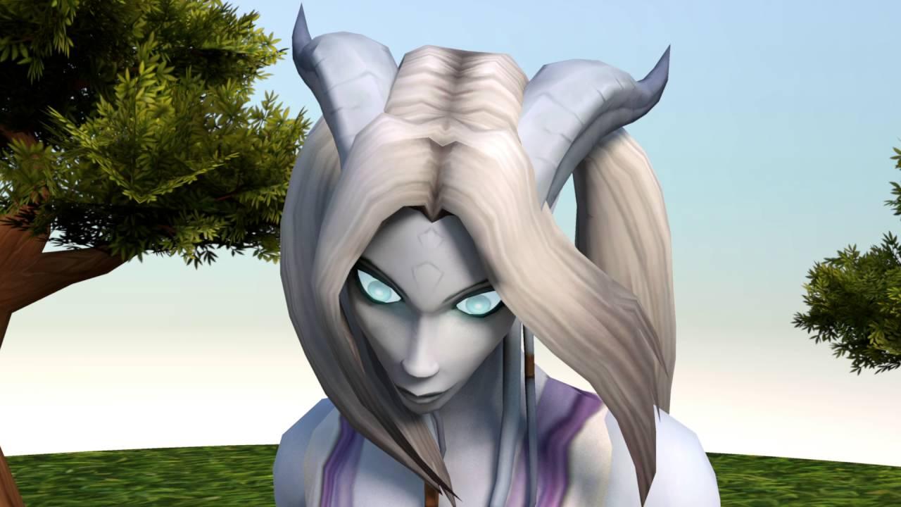 Female Draenei HD Rig Demo (World of Warcraft 3d Animation Test)
