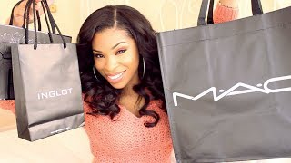 Massive Makeup Haul!!! MAC, Bobbi Brown, Inglot & More! | SHOPPING Thumbnail