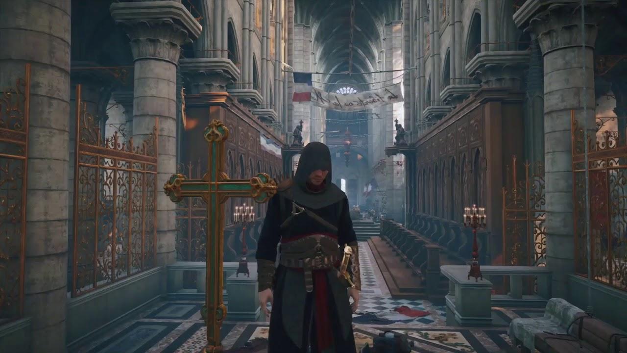 assassinss creed unitys virtual recreation of notre - 1280×720