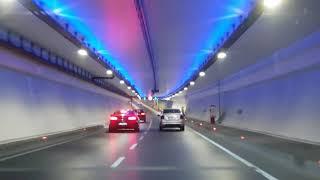 Avrasya Tüneli ile boğazın altından arabayla geçtiğim video