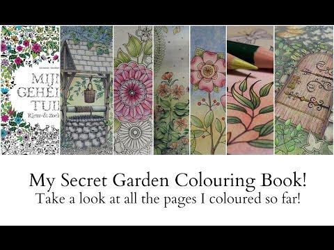 Colouring My Secret Garden