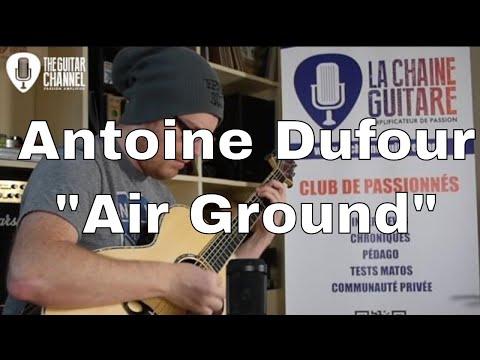 "Acoustic session - Antoine Dufour - ""Air Ground"" - Guitar: Franck Cheval"