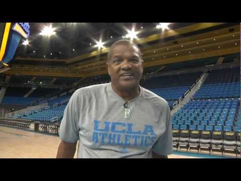 Marques Johnson Gets 1st Dunk in New Pauley Pavilion