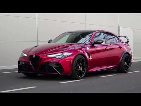 Новая Alfa Romeo Giulia GTA 2020 года