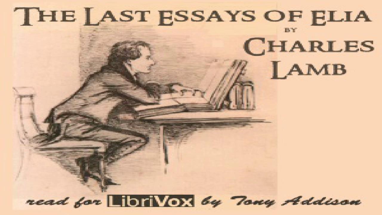 essays of elia summary pdf