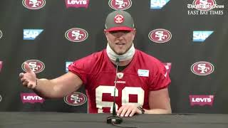 49ers OT Mike McGlinchey on playing during the COVID-19 pandemic