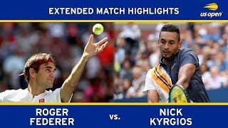 Extended Highlight: Roger Federer vs. Nick Kyrgios | 2018 US Open, R3