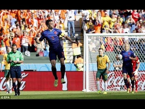 Australia vs Netherlands 2-3 2014 All Goals & Full Highlights | World Cup 201