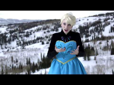 'Frozen - Let It Go' In real life!
