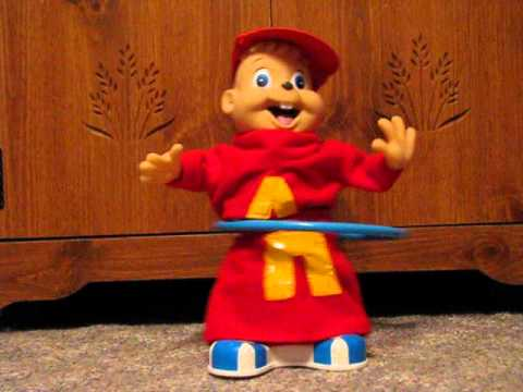 Alvin and the Chipmunks Hula Hoop Doll