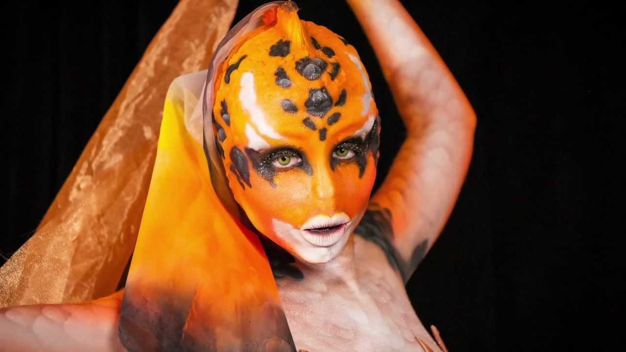 european body art at imats 2012