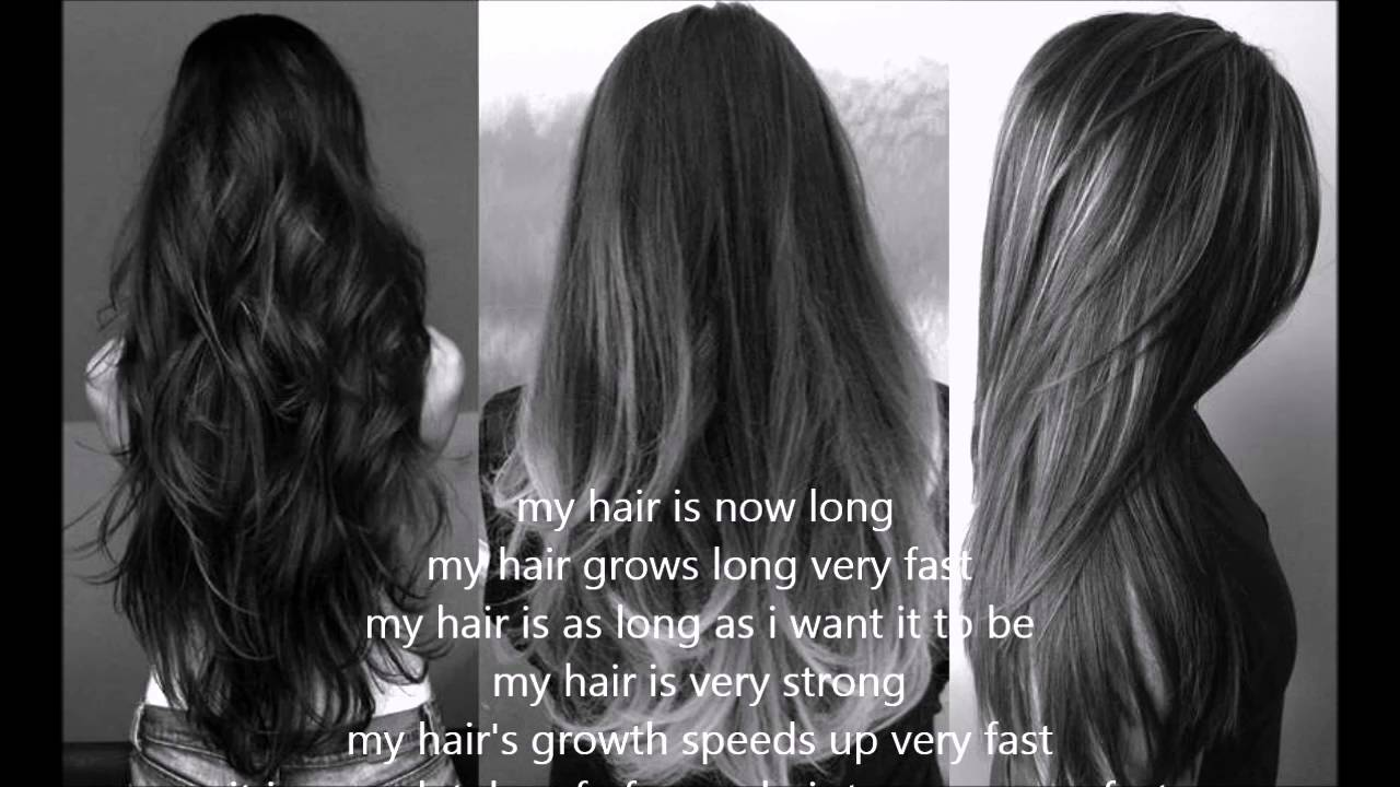 Grow Hair Long Fast Subliminal REQUEST YouTube