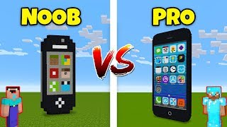 Minecraft NOOB vs. PRO: IPHONE in Minecraft! AVM SHORTS Animation