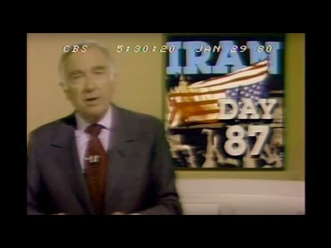 Six US Diplomats Escape Iran Disguised As Canadians - CBS Evening News - January 29, 1980