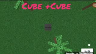 Suy un cubo mas muerto xd / roblox / Cube eat Cube