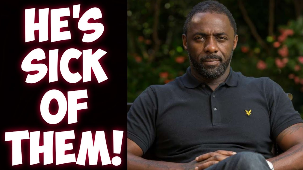 Idris Elba SLAMS censorship and stands with free speech! CBS going scorched earth with Star Trek?